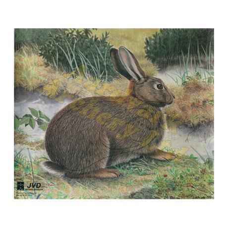 JVD Animal Target Face - Rabbit Image 1