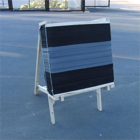 Ard Target Stand - 90cm Foam - Low Image 1