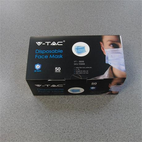 Clinical Face Mask - 3 Ply [x50] Image 1