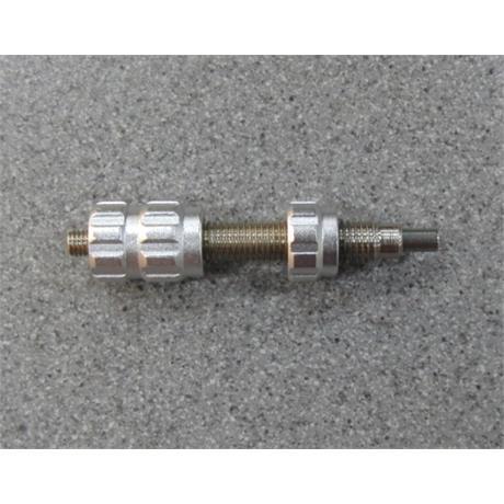 Cartel Triple Pressure Button Silver Image 1
