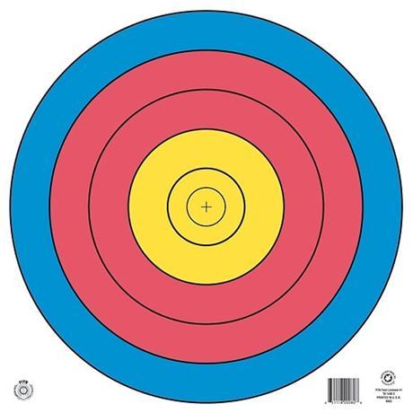Arrowhead Target Face - 80cm Single Spot Image 1