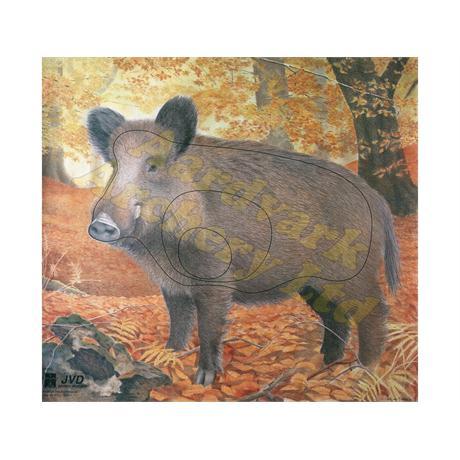 JVD Animal Target Face - Wild Boar Image 1