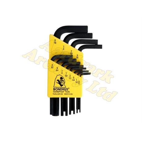 Bondhus Allen Wrench Set .50-5/16 Image 1