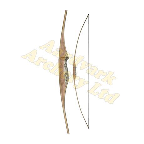 White Feather Flatbow - Osprey Black Image 1