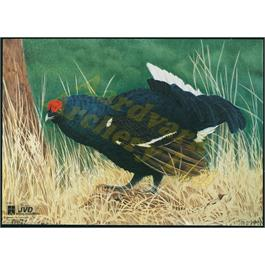 JVD Animal Target Face - Blue Grouse thumbnail