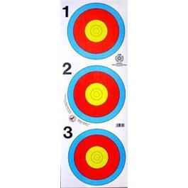 Arrowhead Target Face - 60cm 3 Spot thumbnail