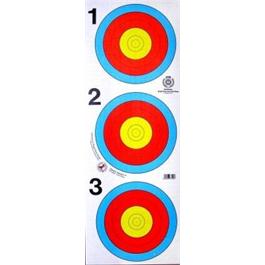 Arrowhead Target Face - 40cm 3 Spot thumbnail
