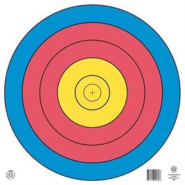 Arrowhead Target Face - 80cm Single Spot thumbnail