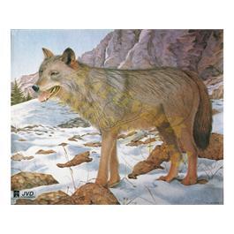 JVD Animal Target Face - Wolf thumbnail