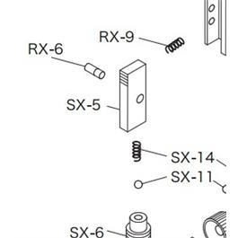 Shibuya Dual Click Part - RX-6 Lever Pivot Screw thumbnail