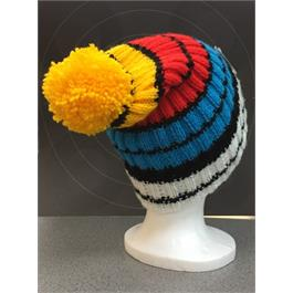 Knitted Bobble Hat - Target Thumbnail Image 1