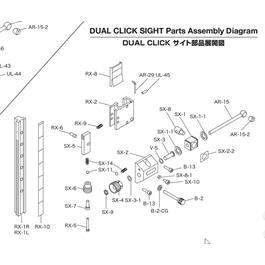 Shibuya Dual Click Part - Sx-8-1 Thumbnail Image 1