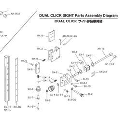 Shibuya Dual Click Part - Sx-10 Thumbnail Image 1