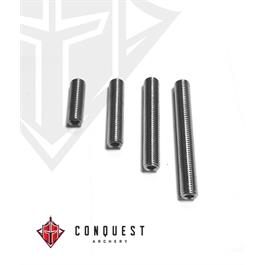 Conquest Screw Set Threaded - Stainless Steel 5-16/24 thumbnail