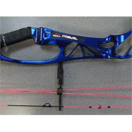Hoyt Prevail R/H Blue 50-60lb thumbnail