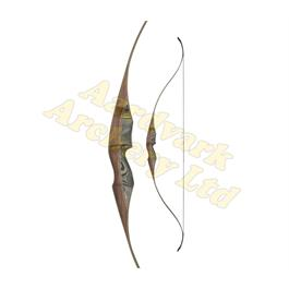 White Feather Fieldbow - Lapwing Black thumbnail