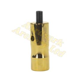 "Gillo Extender - Aluminium 2"" Gold Titanium Plated thumbnail"